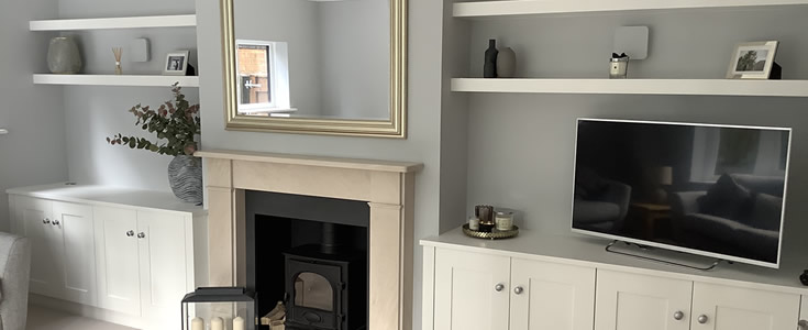 Made to measure alcove units