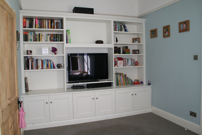 Fitted Shelving Office Study - Walton, Weybridge, Claygate, Thames